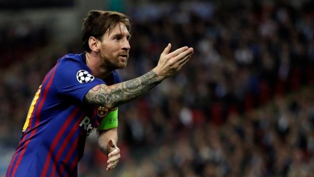 Messi, Rakitic light up Wembley as Barcelona sink Spurs