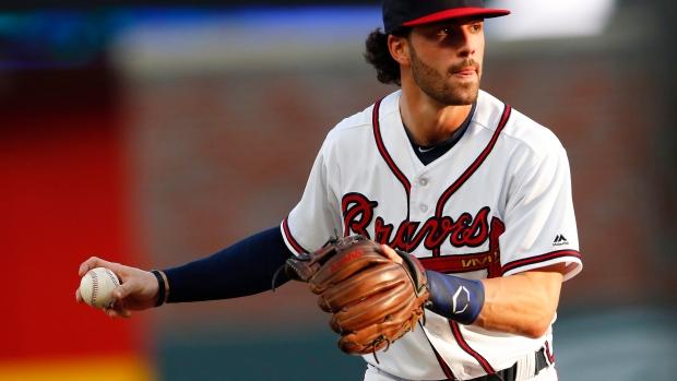 Braves shortstop Swanson left off NLDS roster - TSN ca