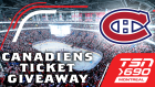 Montreal Canadiens ticket giveaway