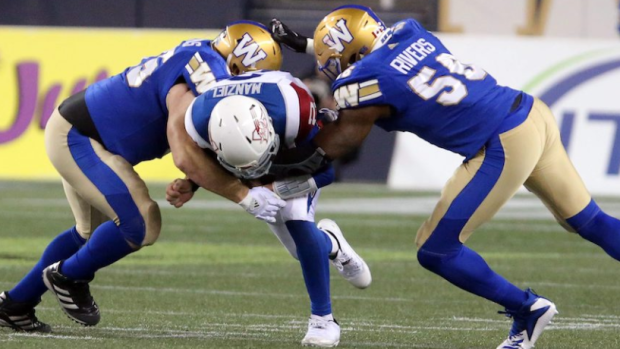 Blue Bombers tackle Manziel