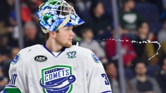 Thatcher Demko Utica Canucks