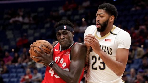 d7e482c36814b1 Siakam leads Raptors over Pelicans to close preseason - TSN.ca