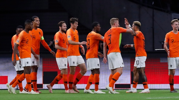 Netherlands Hammers Germany In Nations League Tsn Ca