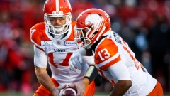 Travis Lulay and Tyrell Sutton