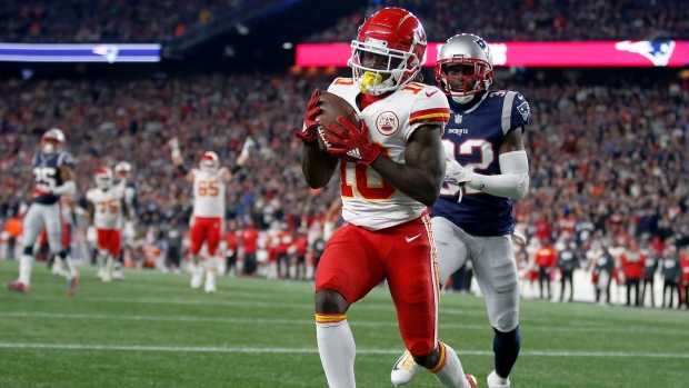 Chiefs Star Tyreek Hill Under Investigation for Alleged Battery Against His Son