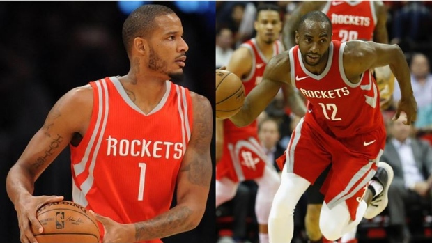 Carmelo Anthony not in Rockets' starting lineup on Wednesday
