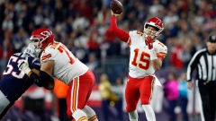 Chiefs QB Patrick Mahomes has set franchise record with five straight 300-yard passing games