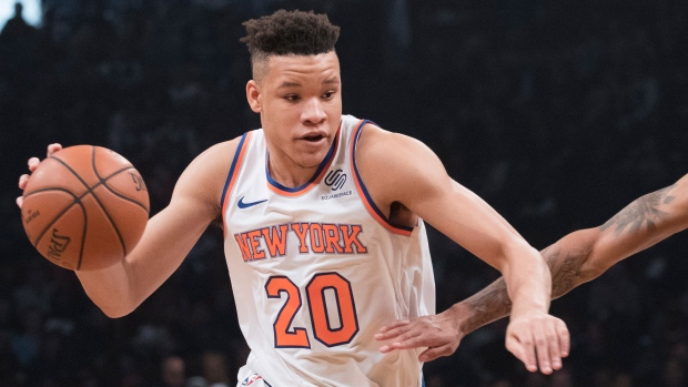 brand new 02c25 fc8a5 In rookie Knox, Knicks see their Christmas future - TSN.ca