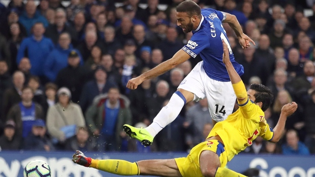 Everton beat Palace for third straight Premier League win
