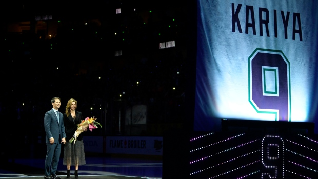Paul Kariya Jersey Retirement