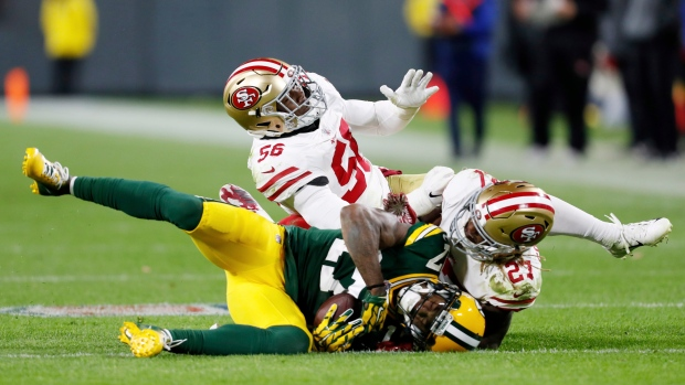 fb552d9a0 49ers S Colbert likely out for season - TSN.ca