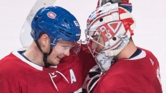 Artturi Lehkonen and Carey Price