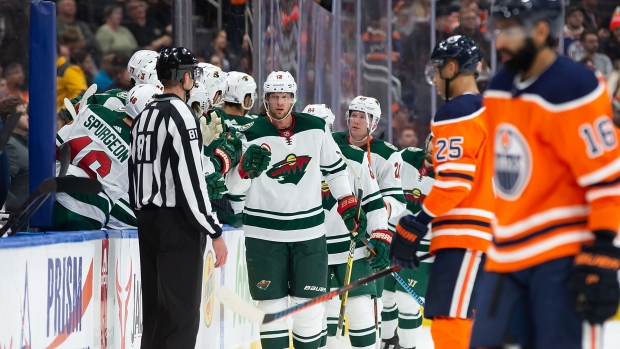 Staal's Three Points Help Wild To Stay Hot, Beat Oilers