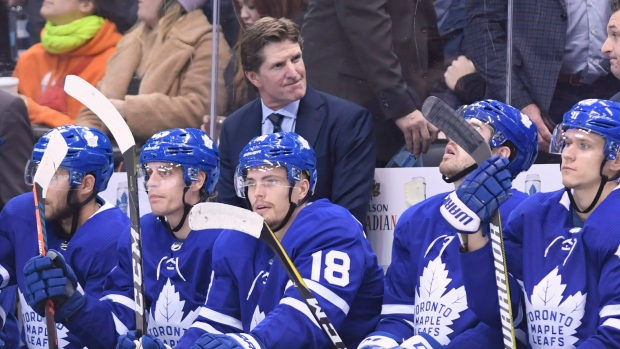 Mike Babcock and Toronto Maple Leafs