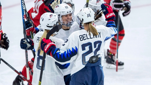 Women - Brodt Scores Winner As U.S. Beats Canada At Four Nations
