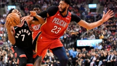 New Orleans Pelicans down Raptors, end Toronto's  perfect record at home Article Image 0