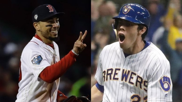 Betts, Yelich, voted Major League Baseball's MVPs