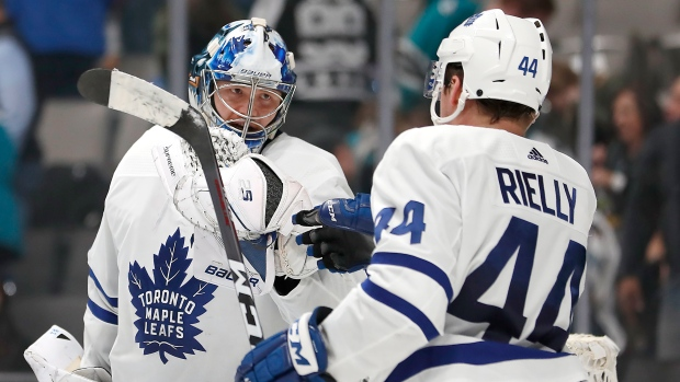 Maple Leafs not taking any chances with Andersen's injury - TSN.ca