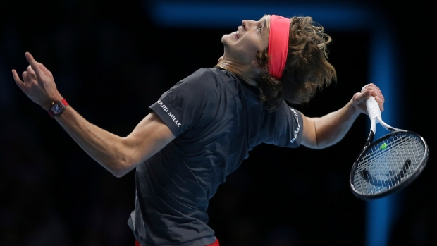 In London, it's a second change of guards as Zverev beats Djokovic
