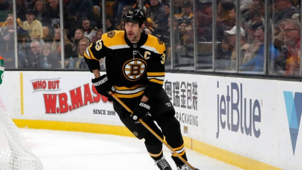 Bruins' Chara (MCL) out four weeks