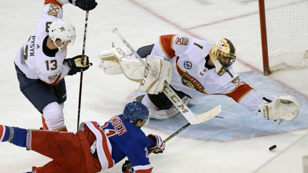 Rangers Beat Panthers For Fifth Straight Home Win Tsn Ca