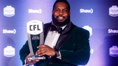 Bombers' Stanley Bryant earns second outstanding CFL lineman award Article Image 0