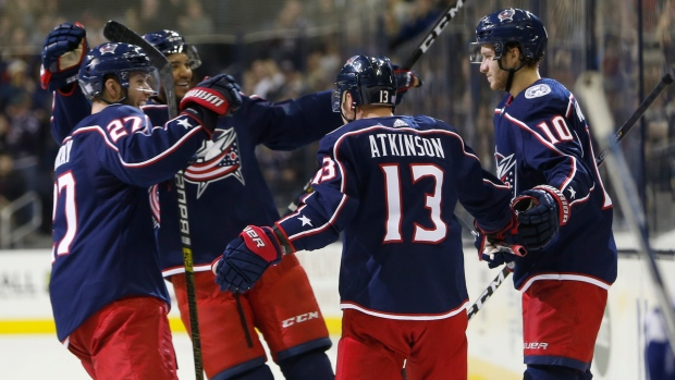 Blue Jackets hand Maple Leafs another road loss - TSN.ca 7ae4bee8f