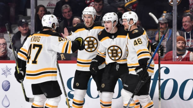 on sale c878e d9f43 Moore's late goal lifts Bruins over Habs - TSN.ca