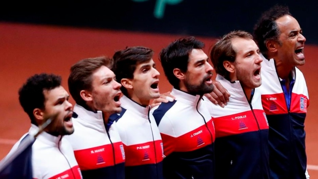 'Croatia, Croatia' chants echoed as Davis Cup tennis heroes welcomed home