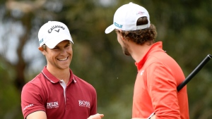 Detry leads as fans return for opening day of European Open