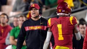 USC Trojans fire head football coach Helton