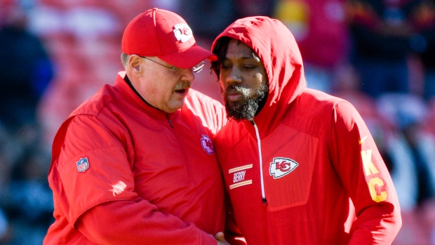 Back on the field: Chiefs safety Eric Berry returns to practice