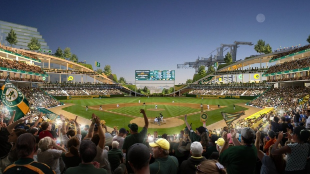 Athletics identify location for modern new ballpark - TSN ca
