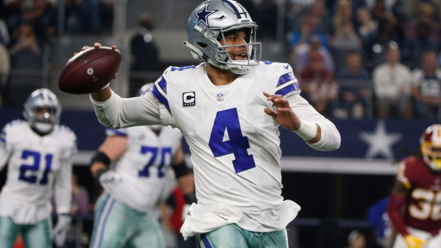 new product 499ce 48a41 Report: Dallas Cowboys start contract talks with QB Dak ...