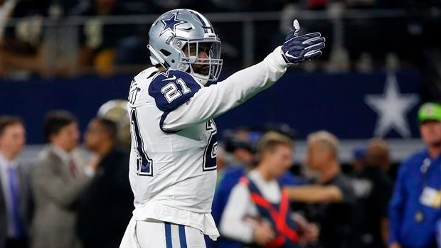 best loved f416e 2552a Report: Dallas Cowboys extend Ezekiel Elliott through 2026 ...