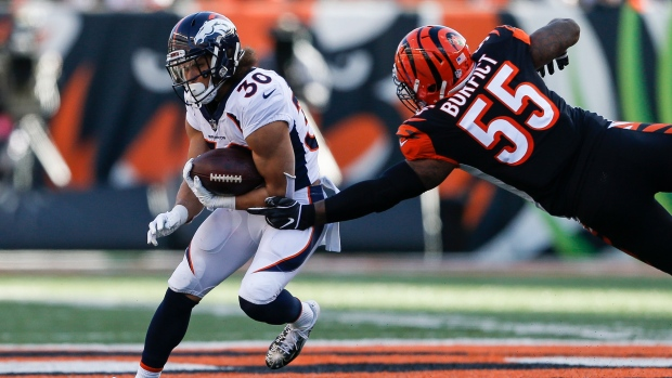 Broncos RB Lindsay becomes 1st undrafted offensive Pro Bowler. The Canadian  Press. Phillip Lindsay 387bdc492