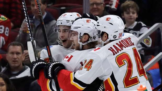 Flames Move To The Penthouse After A Win In The Windy City