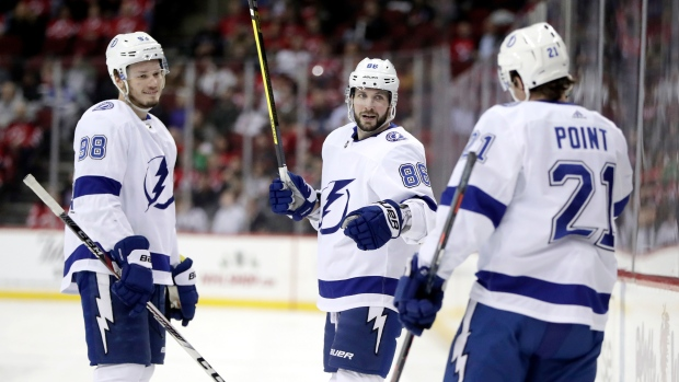 Lightning Does Strike Twice. Kucherov and Point Prove Deadly In New Jersey