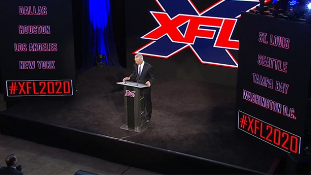 XFL Commissioner Oliver Luck