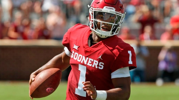 Kyler Murray, who Dolphins could select in draft