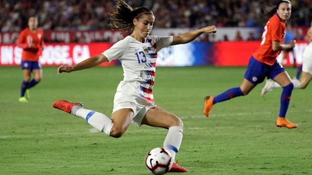 US grouped with Sweden again in 2019 Women s World Cup - TSN.ca bcfa67e1e