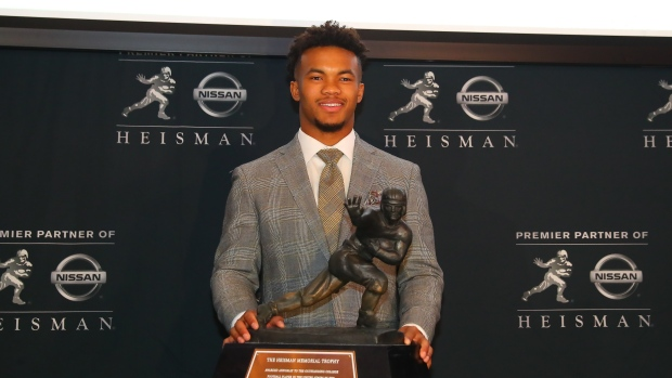 Heisman Trophy victor Kyler Murray declares for the NFL Draft