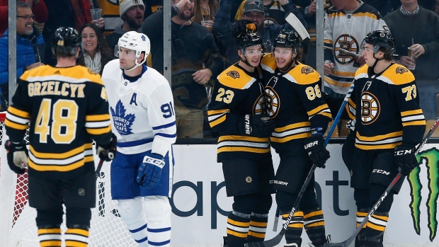 Maple Leafs' Zach Hyman suspended 2 games for hit on Charlie McAvoy