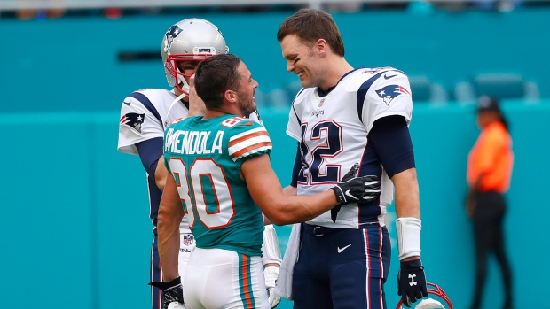 Danny Amendola Tom Brady
