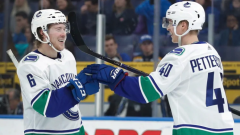 Canucks Elias Pettersson Brock Boeser