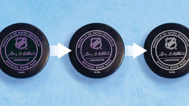 NHL to test colour-changing, temperature-smart puck