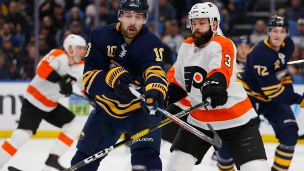 Sabres suspend forward Berglund for failing to report to the team