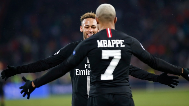 cf4b501ddcc1 PSG beats Red Star to reach Champions League knockout stage - TSN.ca
