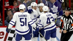 Toronto Maple Leafs celebrate goal