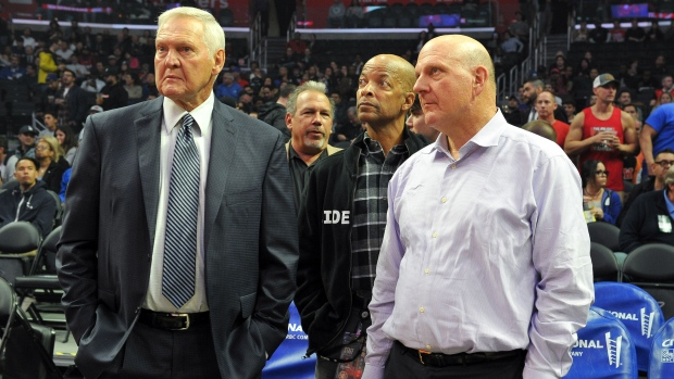 Jerry West and Steve Ballmer